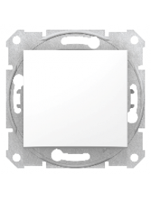 Sedna SDN0201121 - Sedna - 2pole switch - 10AX indicator light, without frame white , Schneider Electric