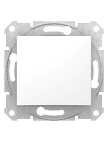 Sedna SDN0500121 - Sedna - intermediate switch - 10AX without frame white , Schneider Electric