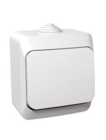 Cedar Plus WDE000570 - Cedar Plus - intermediate switch - 16AX, white , Schneider Electric