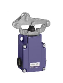 OsiSense XC XC1AC1392 - Limit switch - plunger head - spring return rol lever met on needle rol bearing , Schneider Electric