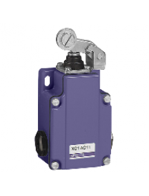OsiSense XC XC1AC166TG - limit switch XC1AC - roller lever - 2NC - staggered , Schneider Electric