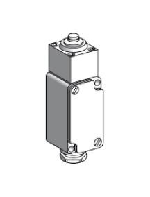 OsiSense XC XC2JC161 - OsiSense XC2J - inter. de position - poussoir métal -1O/F , Schneider Electric