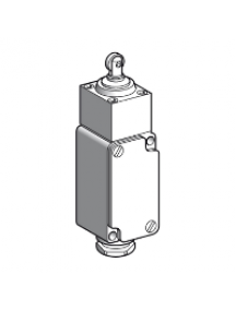 OsiSense XC XC2JC162 - OsiSense XC2J - inter. de position - poussoir à galet acier -1O/F , Schneider Electric