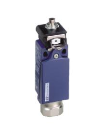 OsiSense XC XCDR2110N12 - interrupteur de position XCDR poussoir acier 1 O plus 1 F , Schneider Electric