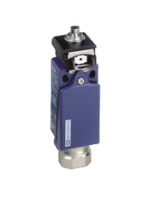OsiSense XC XCDR2510G13 - OsiSense XCDR - inter. de pos. - poussoir métal -1O+1F- dépendante - Pg13 , Schneider Electric