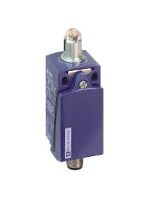 OsiSense XC XCKD2102M12 - OsiSense XCKD - inter. de pos. - poussoir à galet acier -1O+1F- brusque - M12 , Schneider Electric