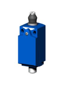 OsiSense XC XCKD2111P16 - OsiSense XCKD - inter. de pos. - poussoir métal souf. nit. -1O+1F- brusque - M16 , Schneider Electric