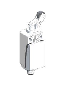 OsiSense XC XCKD2127M12 - interrupteur de position XCKD levier à galet, attaque verticale 1 O plus 1 F , Schneider Electric