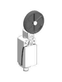 OsiSense XC XCKD2139M12 - interrupteur de position XCKD levier à galet diam 50 mm 1 O plus 1 F , Schneider Electric