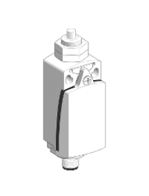 OsiSense XC XCKD21H0M12 - interrupteur de position XCKD poussoir acier 1 O plus 1 F , Schneider Electric